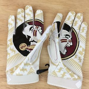 Nike Florida Football Mens SZ XXL Gloves